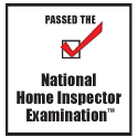 Passed the National Home Inspector Exam